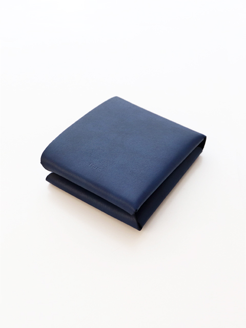 i ro se(イロセ) SEAMLESS  SHORT WALLET -Indigo