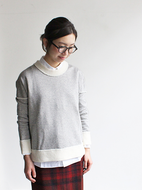 White Mountaineering (ホワイトマウンテニアリング) DROP SHOULDER SIDE ZIPPED PULLOVER