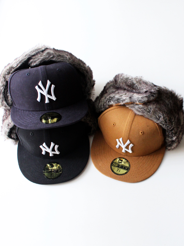 NEW ERA(ニューエラ) 59FIFTY TRAPPER WASHED DUCK