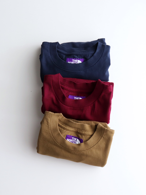 THE NORTH FACE PURPLE LABEL(ザ ノース フェイス パープルレーベル) 7oz L/S Pocket Tee