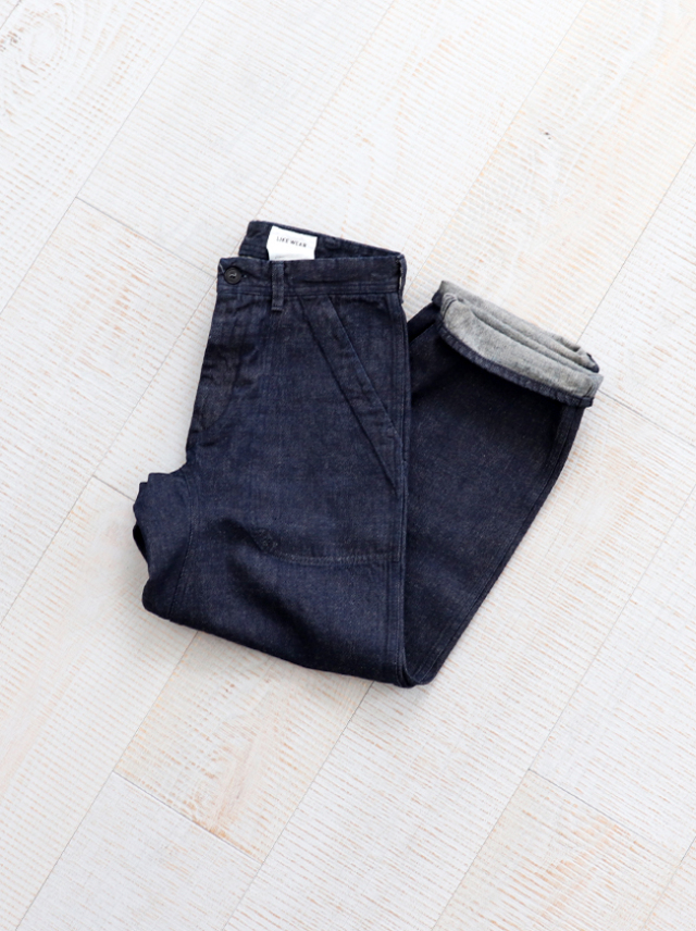 YAECA LIKE WEAR(ヤエカ ライクウェア) US NAVY DENIM PANTS