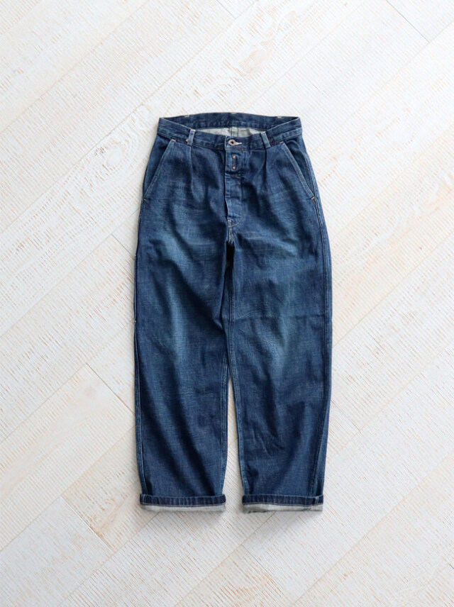 Re: ORDINARY(リオーディナリー) DENIM WORK PANTS -1YEAR