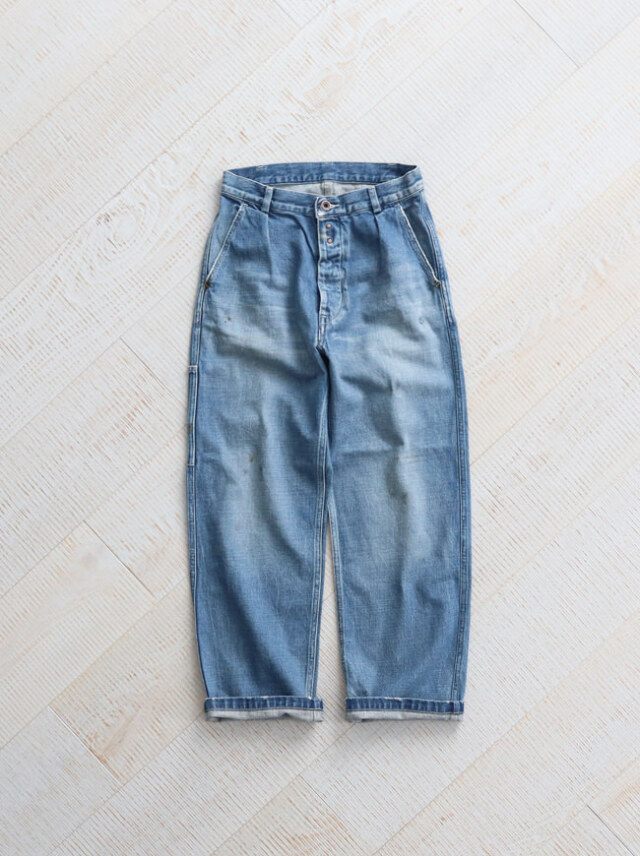 Re:ORDINARY(リオーディナリー) DENIM WORK PANTS -5YEAR