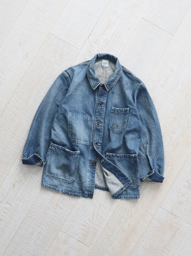 Ordinary fits(オーディナリーフィッツ) DENIM WORK JACKET -5YEAR
