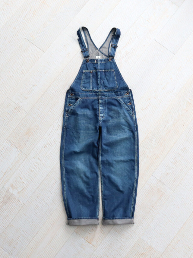 Ordinary fits(オーディナリーフィッツ) DENIM WORK OVERALL -1YEAR