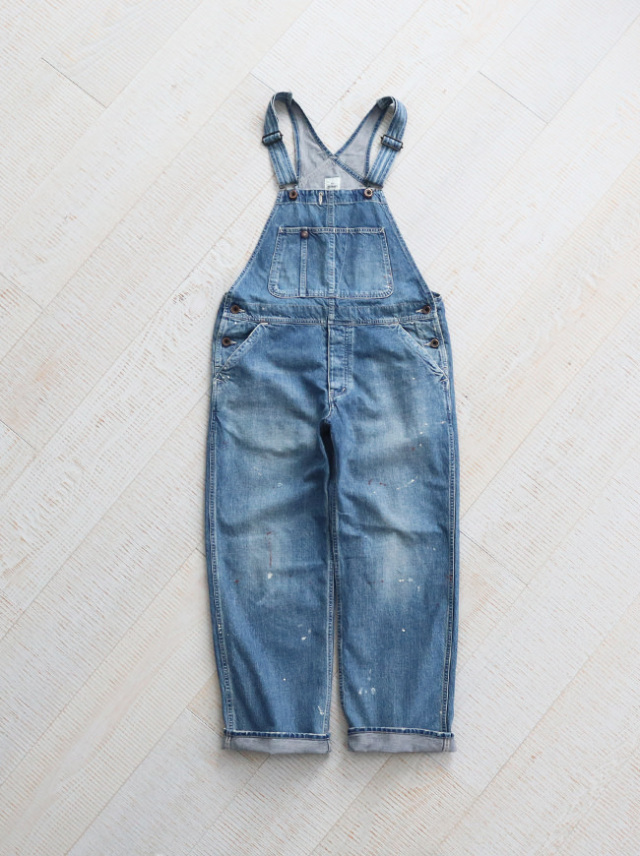 Ordinary fits(オーディナリーフィッツ) DENIM WORK OVERALL -5YEAR