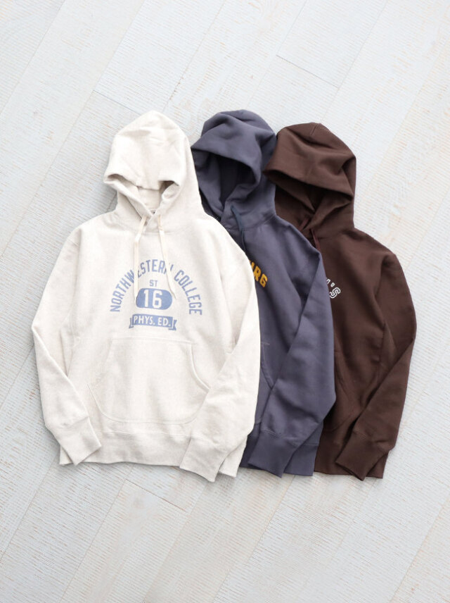 A Vontade(アボンタージ)Hooded Sweat Parka -ナイモノねだり