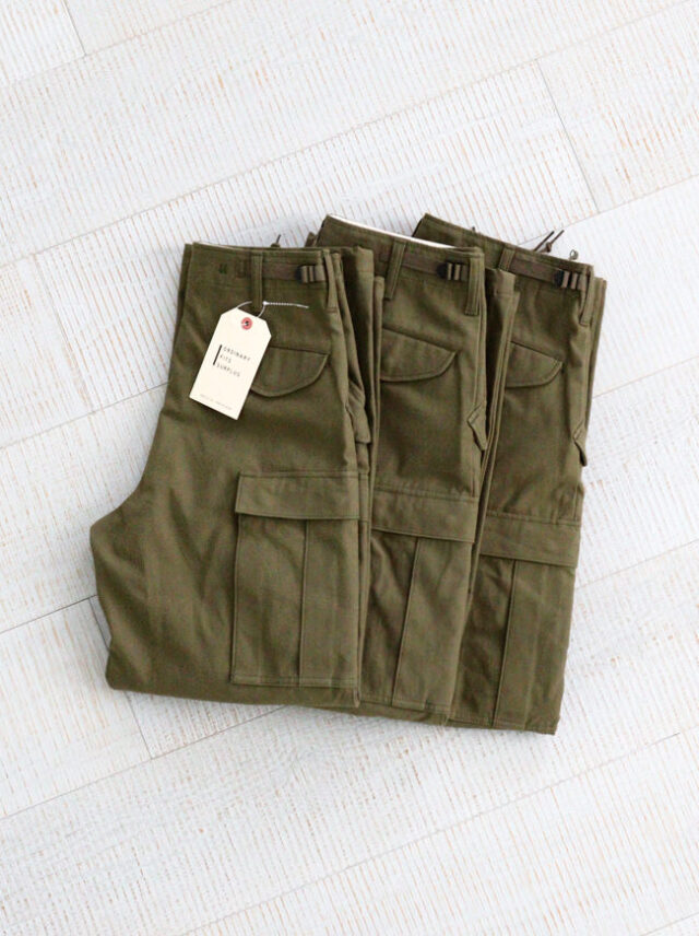 Ordinary fits SURPLUS(オーディナリーフィッツ) M-65 TYPE CARGO PANTS