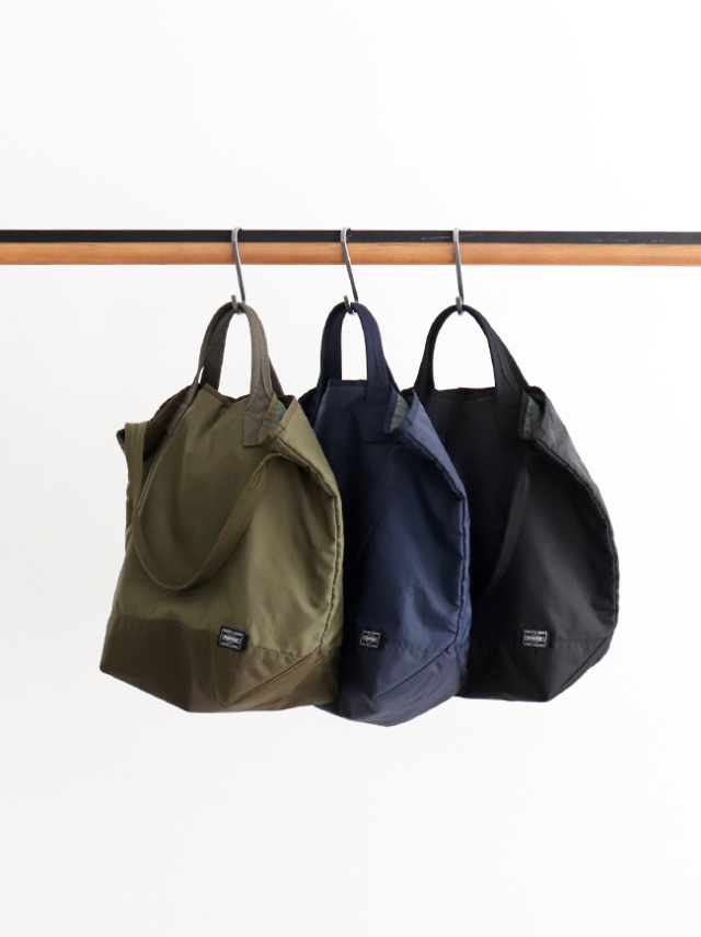 Kaptain Sunshine(キャプテンサンシャイン)Quilting Military Nylon Tote Made by PORTER