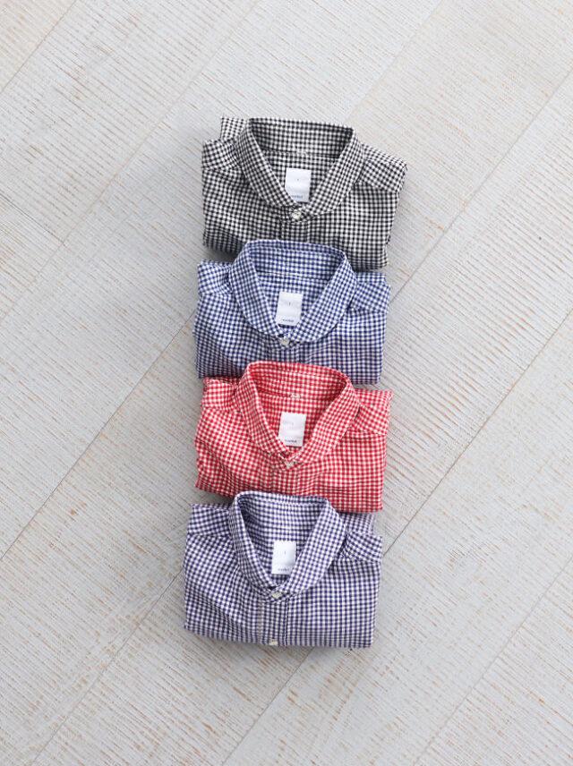 maillot(マイヨ) sunset gingham work shirts (ギンガムワーク) MAS-004
