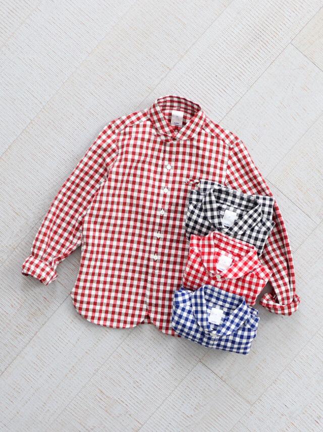 maillot(マイヨ) sunset big gingham work shirts (サンセットビッグギンガムワーク)  MAS-004B