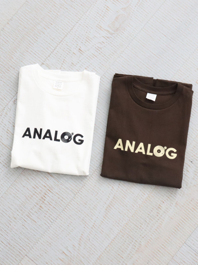 A Vontade(アボンタージ)7.5oz Tube S/S T-Shirts -ANALOG- ナイモノねだり