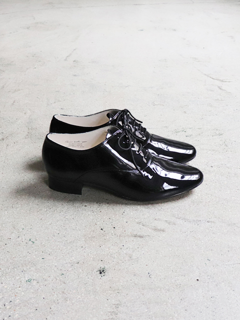 BEAUTIFUL SHOES(ビューティフルシューズ) FRENCHOXFORD -ENAMEL BLACK