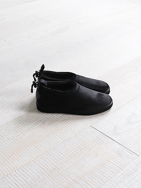 BEAUTIFUL SHOES(ビューティフルシューズ) BS MOC -BLACK HAIR CALF