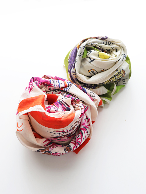 BINDU(ビンドゥー)HAWAII COTTON VOILE SCARF