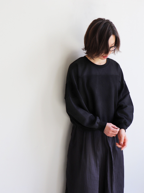 blurhms (ブラームス) French Terry French Switchover Wide L/S