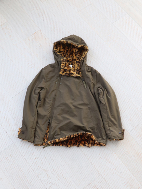 CAL O LINE(キャルオーライン) UPDATE SNOW PARKA(LEOPARD)