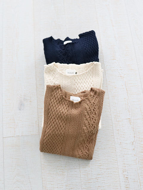 CAL O LINE(キャルオーライン) CUT-OFF CABLE L/S TEE