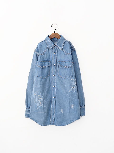 CAL O LINE(キャルオーライン) USED DENIM WESTERN SHIRT