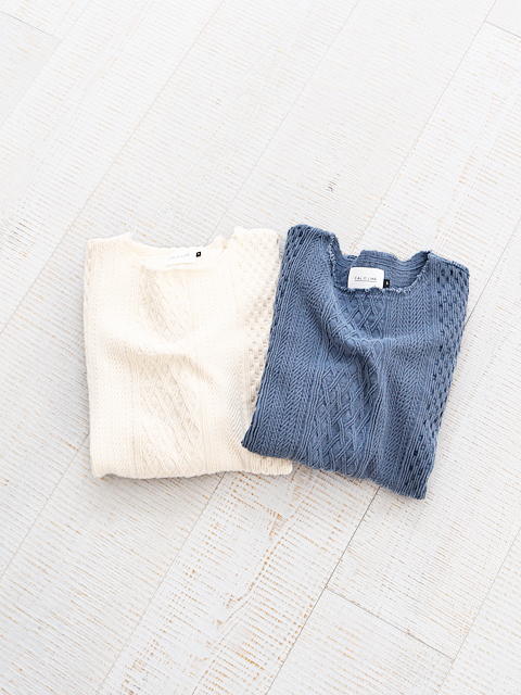 CAL O LINE(キャルオーライン) CABLE JQ CUT-OFF L/S TEE