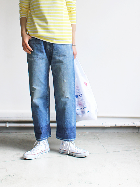 chimala(チマラ) SELVEDGE DENIM USED ANKLE CUT