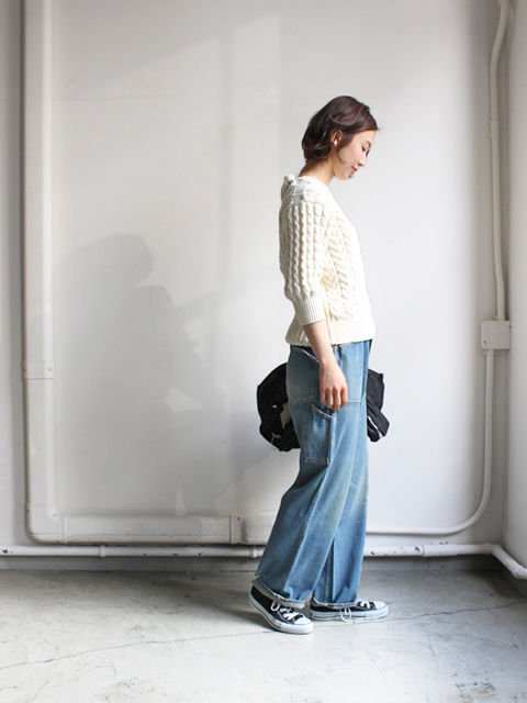 chimala(チマラ) DENIM PAINTER PANTS
