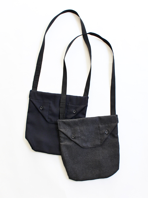 ENGINEERED GARMENTS(エンジニアードガーメンツ) Shoulder pouch -Worsted heavy wool
