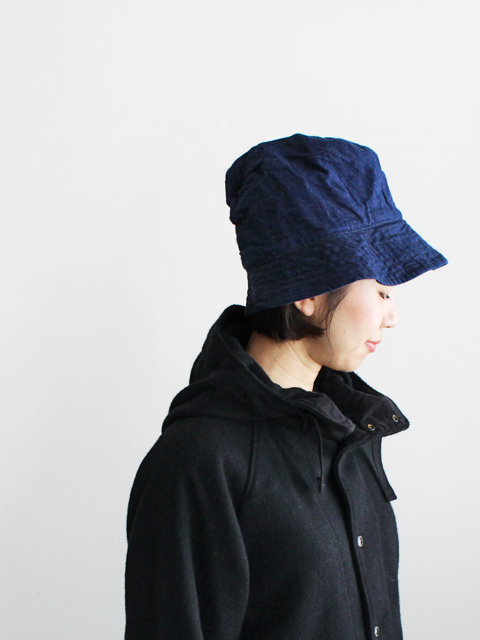 ENGINEERED GARMENTS(エンジニアードガーメンツ) Bucket Hat - 11oz cone denim