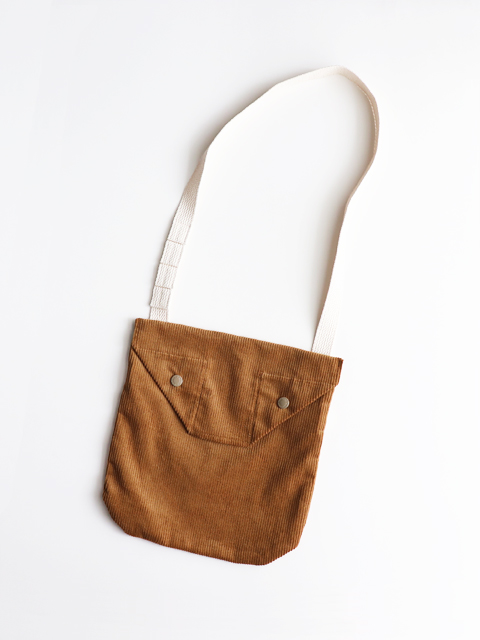 ENGINEERED GARMENTS(エンジニアードガーメンツ) Shoulder pouch - 8wCorduroy