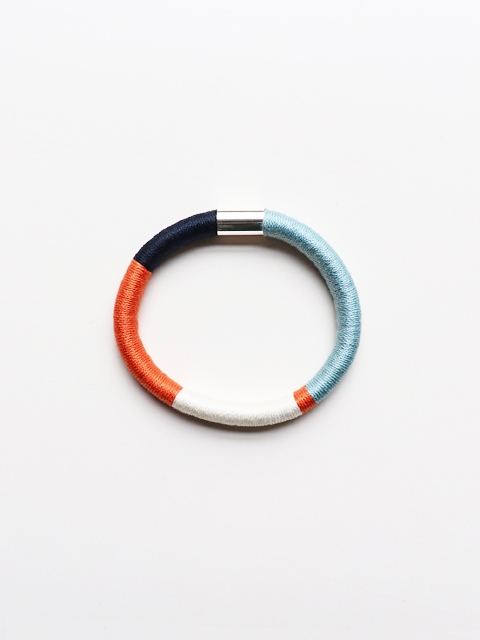 ELEANORBOLTON(エレノアボルトン) Wrapped Bangle - NEEMA