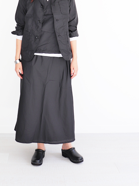 ENGINEERED GARMENTS(エンジニアードガーメンツ) Wrap skirt -Nylon micro ripstop