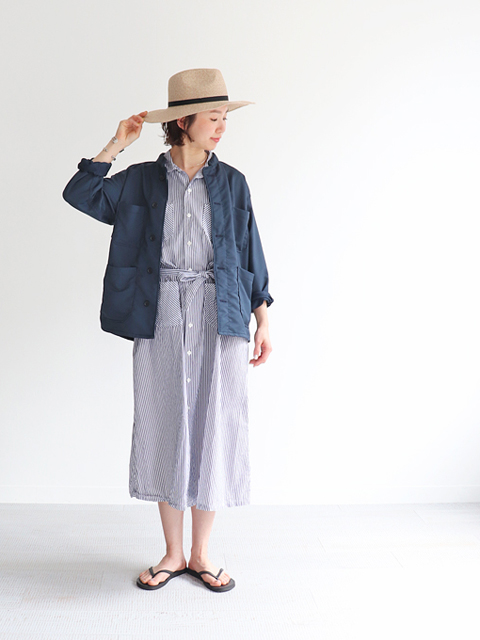 ENGINEERED GARMENTS(エンジニアードガーメンツ) Classic dress -Bengal st.broadcloth