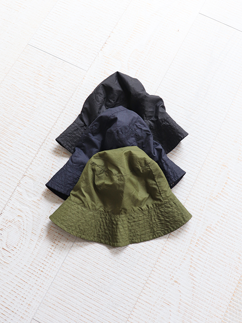 ENGINEERED GARMENTS(エンジニアードガーメンツ) Bucket hat -Nylon micro ripstop