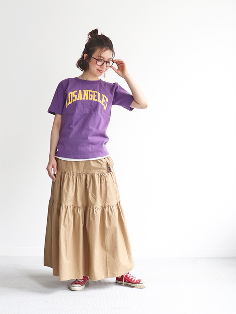 GRAMICCI (グラミチ) WETHER TIERED SKIRT