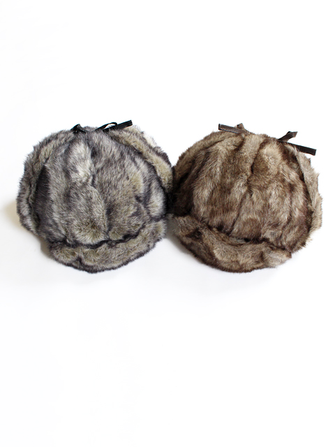 G&S ORIGINALS (ジーアンドエスオリジナルス)FULL FAUX FUR AVIATOR HAT