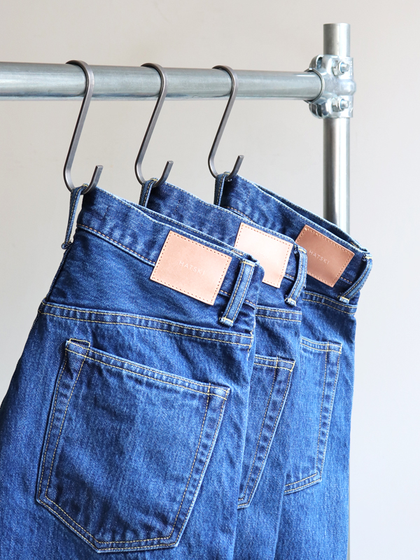 HATSKI(ハツキ) Regular Tapered Denim -Used