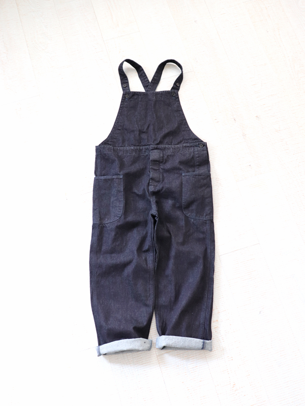 HATSKI(ハツキ) Denim Overall -One Wash