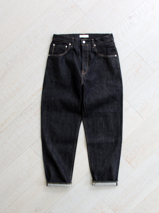 HATSKI(ハツキ) Loose Tapered Denim -One Wash