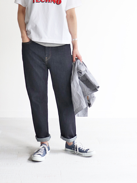 HATSKI(ハツキ) Regular Tapered Denim