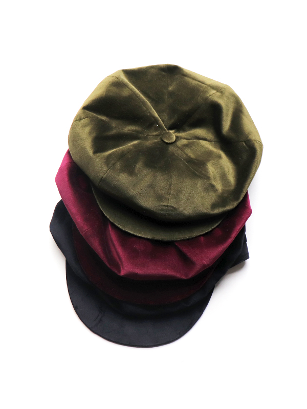 Hollingworth Country Outfitters(ホリングワース・カントリー・アウトフィッターズ) Baker Boy Hat Napoli Velvet