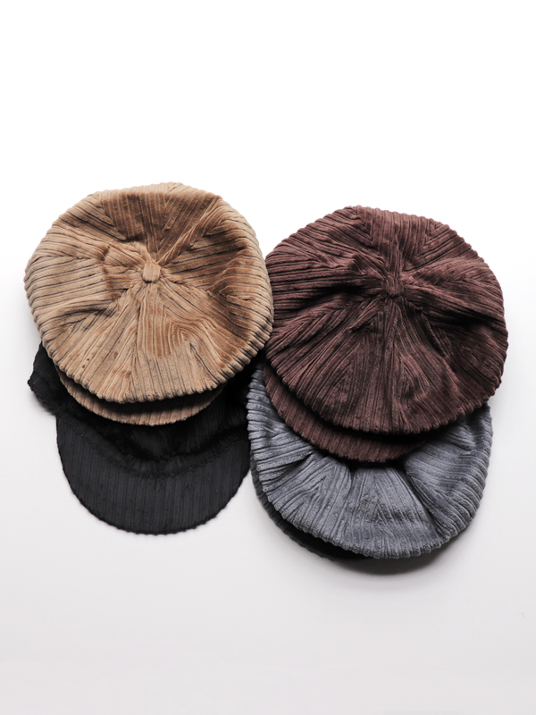 Hollingworth Country Outfitters(ホリングワース・カントリー・アウトフィッターズ) Baker Boy Hat Corduroy