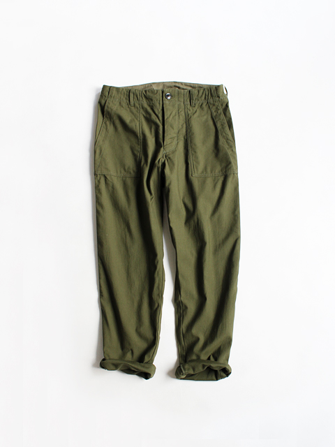maillot(マイヨ) Military Cloth Easy Baker Pants(ミリタリークロス・イージーパンツ) MAP-16228