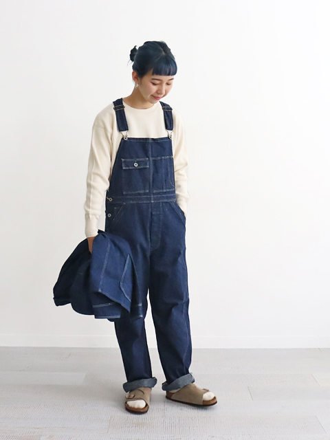 orslow(オアスロウ) OVER ALL -ONE WASH