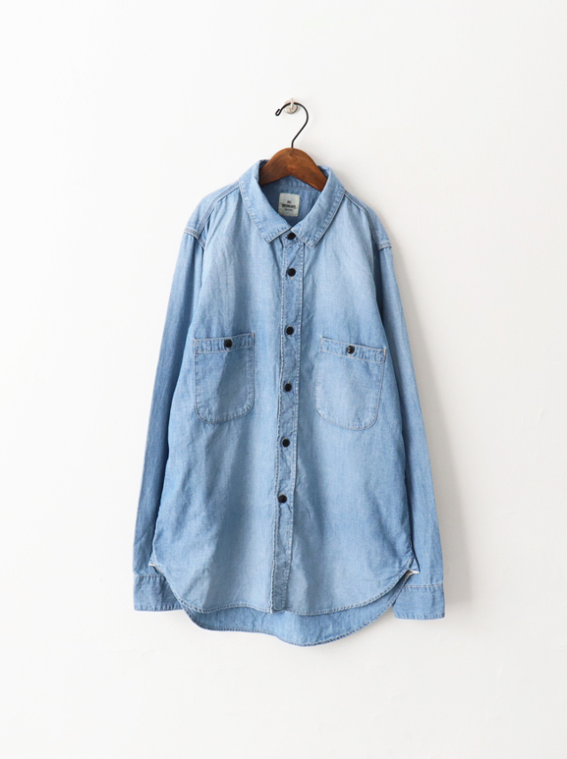 Re: ORDINARY(リオーディナリー) CHAMBRAY WORK SHIRTS -1YEAR