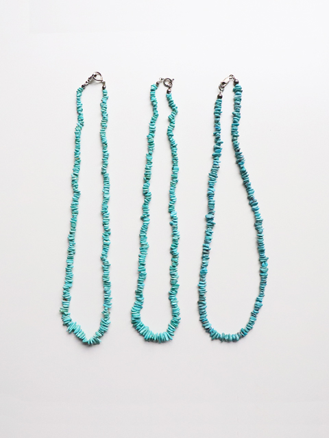 INDIANJEWELRY(インディアンジュエリー)サント・ドミンゴ ターコーイズネックレス