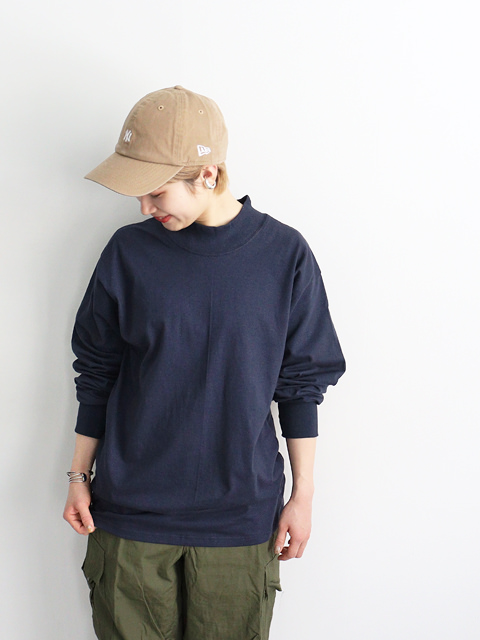 LIFEWEAR(ライフウエアー) Mock Neck  Long Sleeve T-Shirts