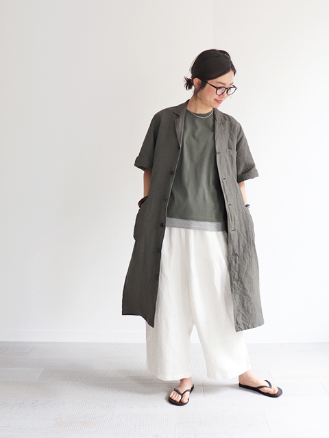 ORDINARY FITS(オーディナリーフィッツ)CLERICAL ONEPIECE