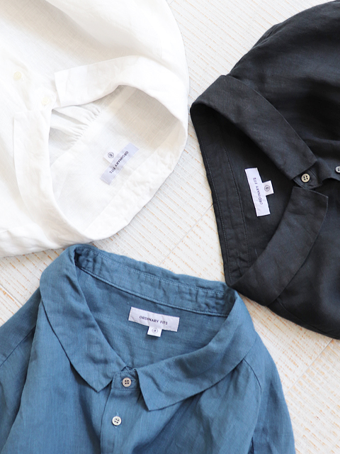 ORDINARY FITS(オーディナリーフィッツ)BARBER SHIRT -LINEN