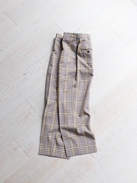 Phlannel(フランネル) Wool Mesh Masculine Trousers