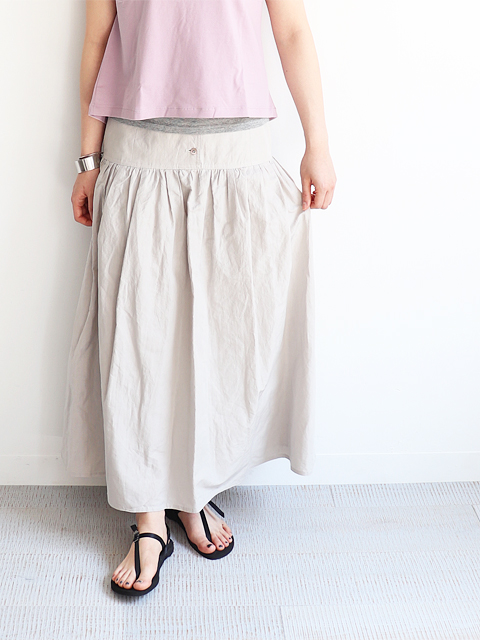 Phlannel(フランネル) Cotton Ramie Weather Petticoat Skirt